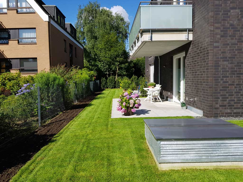 Kompetente Gartenpflege in Hamburg