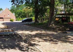 Neuanlage von Zuwegungen, Auffahrten und Parkplätzen
