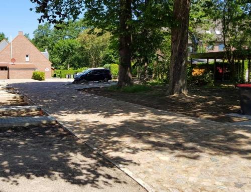 Neuanlage von Zuwegungen Auffahrten Parkplätzen