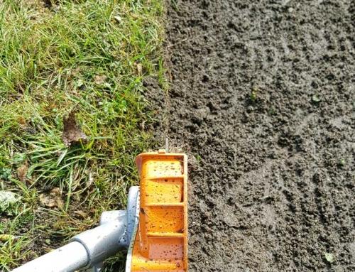 Rasenkanten schneiden mit Kantenschneider
