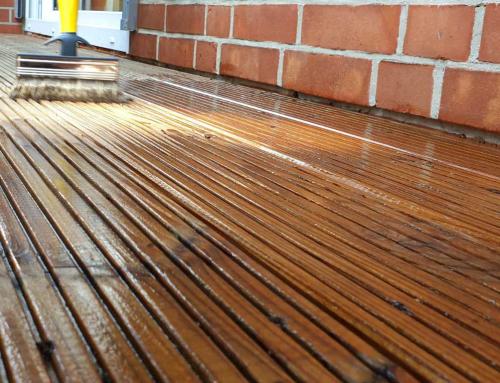 Terrassenpflege mit Osmo Terrassen-Öl